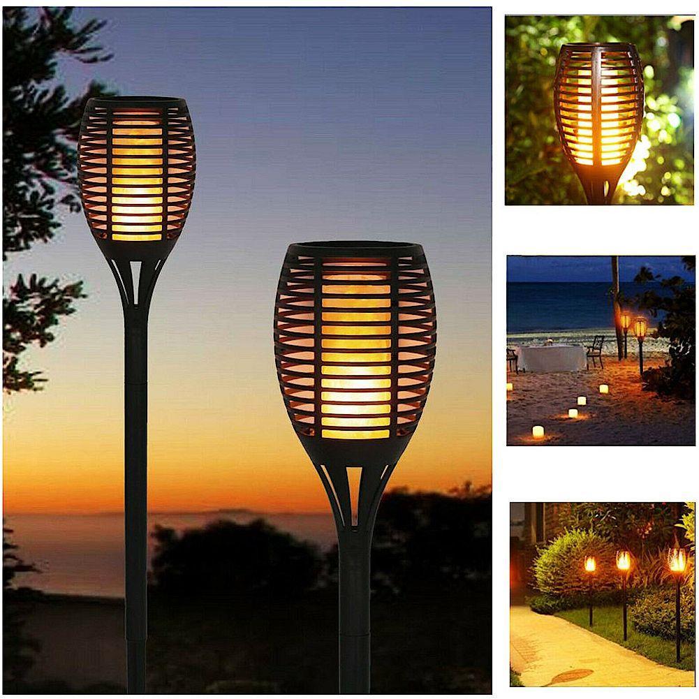 lampa pochodnia solarna